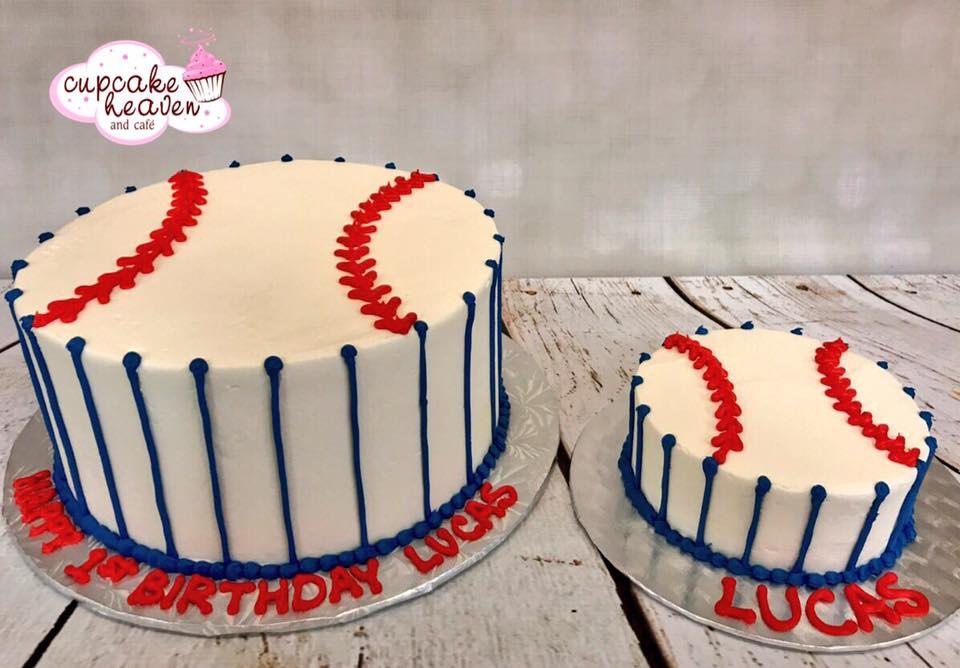 Baseball Themed Birthday Cakes