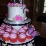 butterflycupcaketopperwedding